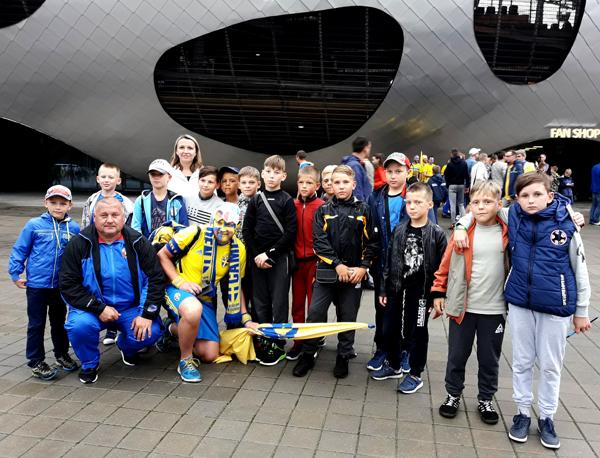 Лиозненские юные футболисты  приняли участие в финале Республиканского турнира «Кожаный мяч»