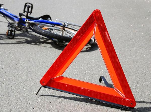 Пострадал  велосипедист