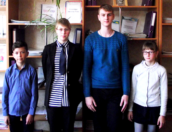 Учащиеся СШ № 1 г.п. Лиозно стали призёрами областного этапа республиканского телевизионного проекта «Я знаю!»