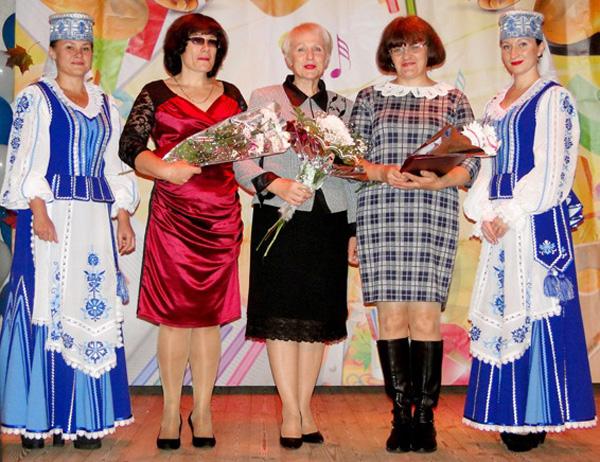 Лиозненские педагоги принимали поздравления