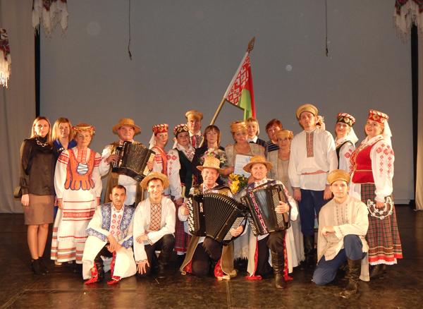 С лиозненской душой на латвийской сцене