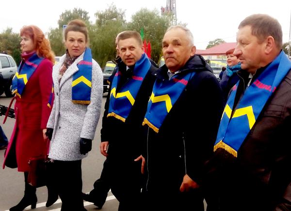 Делегация Лиозненщины приняла участие в областном фестивале-ярмарке «Дожинки-2014» в Дубровно