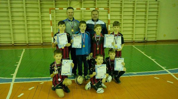 Осенние успехи юных футболистов