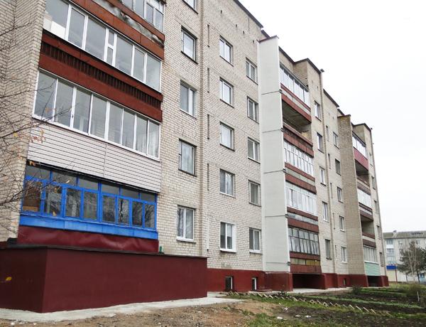 УП ЖКХ завершило работы по капитальному ремонту двух жилых домов в Лиозно