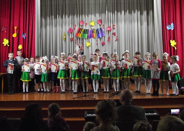В Лиозненской ДШИ прошёл праздничный концерт «Посвящение в первоклассники» (фоторепортаж)