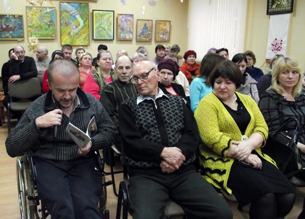 В Лиозненском культурно-оздоровительном центре прошёл торжественный концерт, посвящённый Международному дню инвалидов
