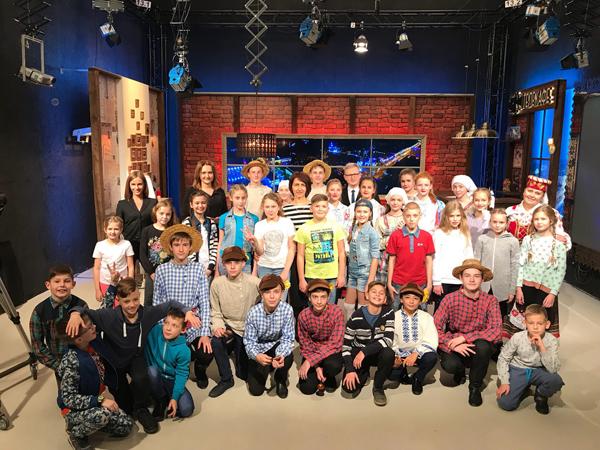 Детские творческие объединения Лиозненского района стали гостями программы «Вечерний Витебск»