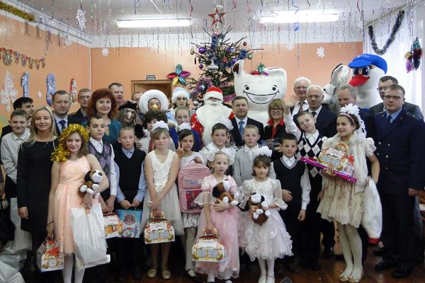 29 декабря состоялся утренник в Лиозненском социальном приюте
