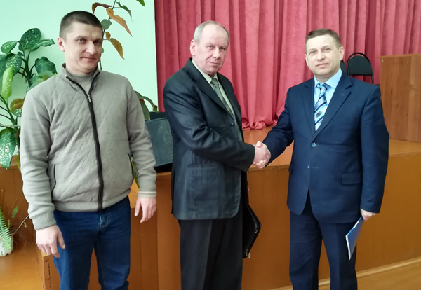 Встреча с коллективом специалистов УП «Барсеево»
