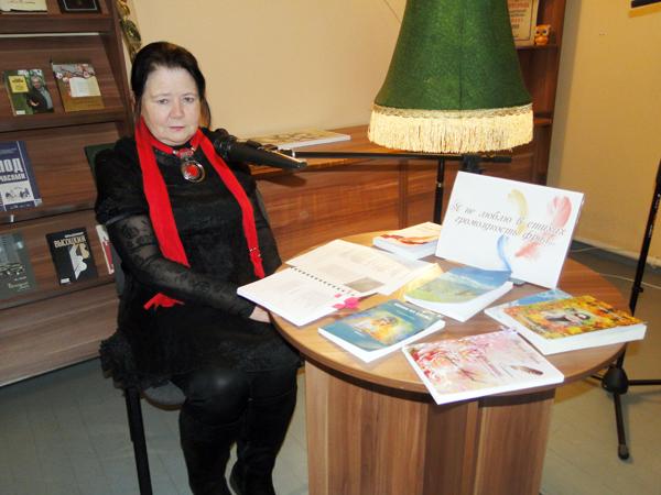В Лиозненской центральной районной библиотеке состоялась премьера сборника стихотворений Тамары Седневой