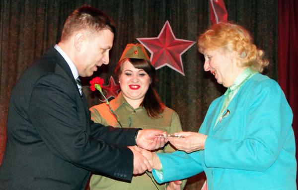 В Лиозно прошло торжественное мероприятие, посвящённое 23 февраля и 100-летию Вооружённых Сил Республики Беларусь