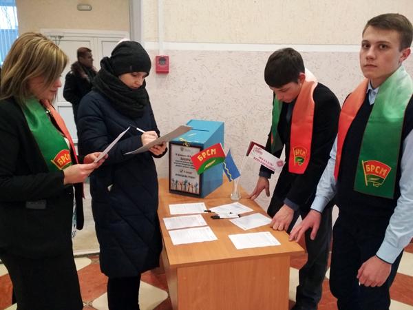 В Лиозненском районе стартовала республиканская акция «#Молодёжь решает!»