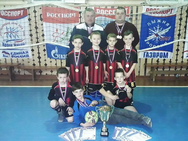 Лиозненские юные спортсмены приняли участие в турнире по мини-футболу в г. Пустошка