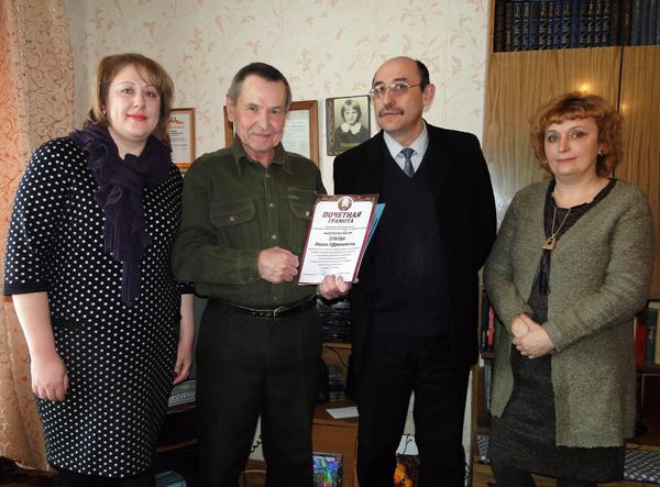 Бывший руководитель районного отдела образования Иван Зубов отпраздновал юбилей