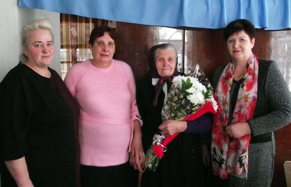 Жительница д. Гребенники  Лиозненского района Ефросинья Павловская отпраздновала 90-летний юбилей
