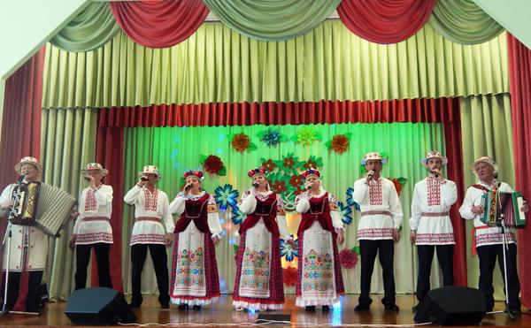 В аг. Добромысли Лиозненского района прошел юбилейный концерт «Песни малой родины»