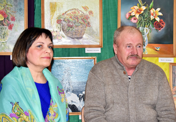 В Лиозненском Доме ремёсел прошло открытие выставки самодеятельного художника Виктора Ершова