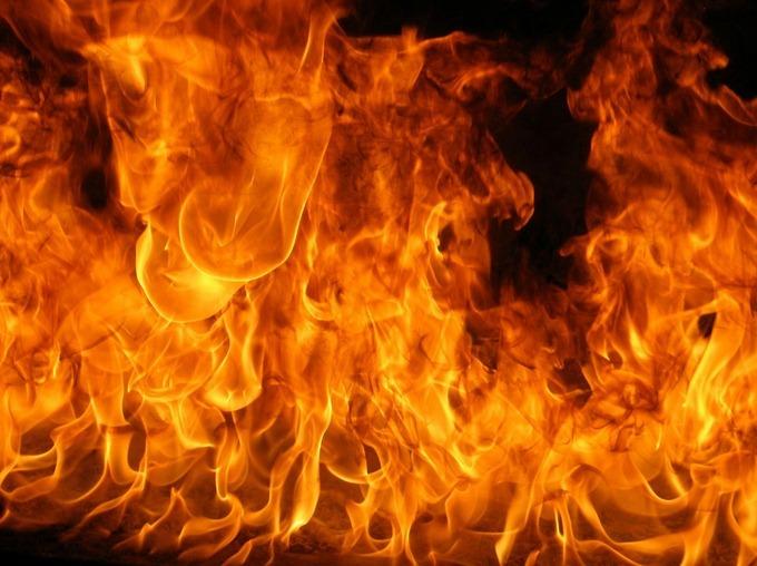 Ещё одна жертва на пожаре