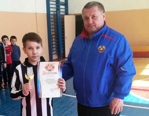 В Лиозно прошли районные соревнования по мини-футболу