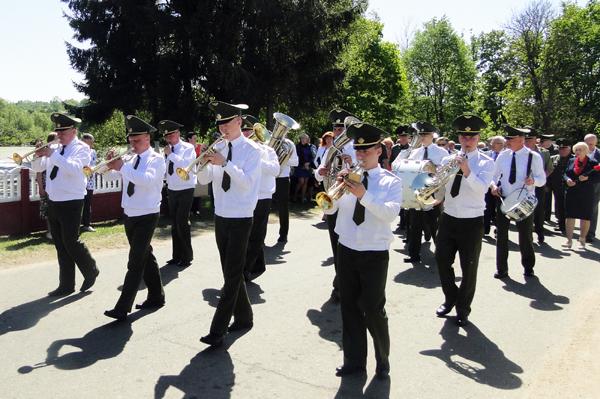 В аг. Крынки прошло перезахоронение воинов погибших за освобождение Лиозненского района
