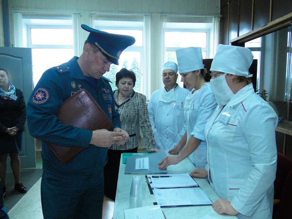 В Лиозненском районе состоялось командно-штабное учение