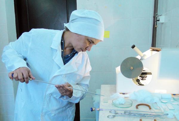 Техники-осеменаторы Лиозненского района боролись за звание лучшего