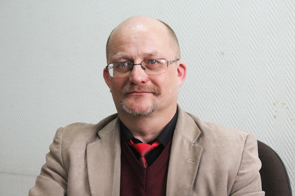 Интервью с председателем Лиозненского районного объединения профсоюзов Александром Пиутой