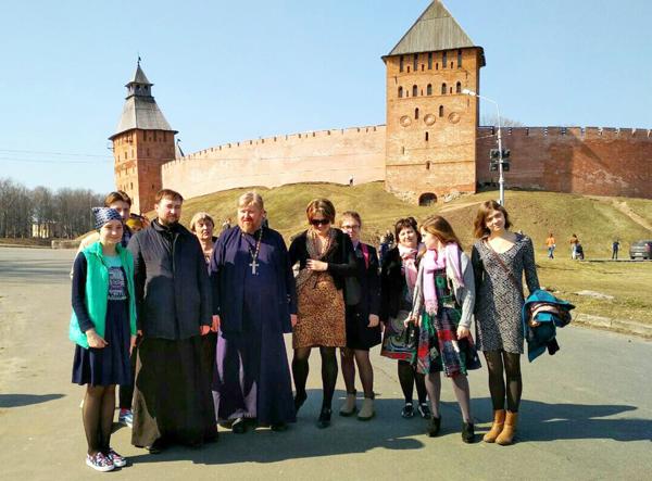 Ученики Крынковской школы посетили Великий Новгород