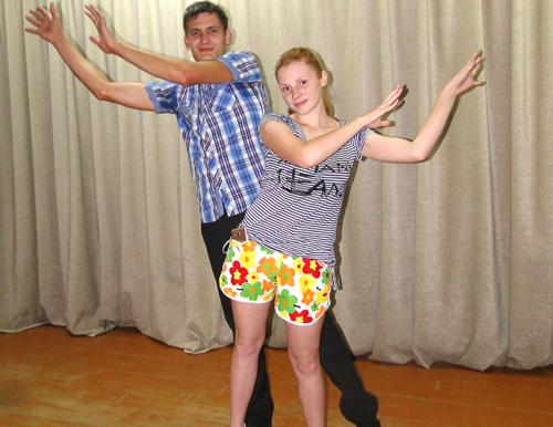Участники проекта РЦК «Танцуй!» Мария и Сергей Колупаевы: «Хочется, чтобы всё было красиво и гармонично»