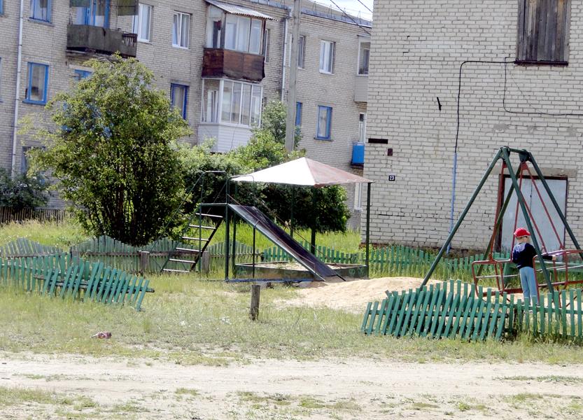 О детских площадках Лиозно