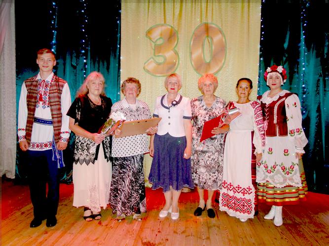 Лиозненский народный клуб «Ветеран» отпраздновал  30-летний юбилей