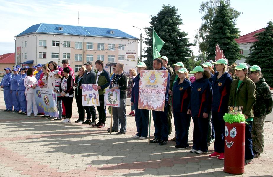 Лиозненский районный турслёт собрал 7 команд