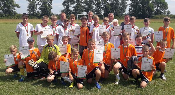 Очередной успех лиозненских юных футболистов