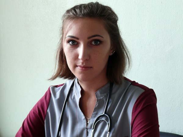 Молодой специалист УЗ «Лиозненская ЦРБ» Анна Козлова