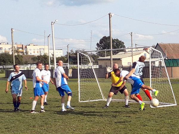 Закончились игры первенства Лиозненского района по футболу