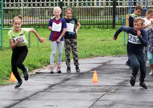 В Лиозно состоялись соревнования по четырёхборью «Олимпийские надежды»