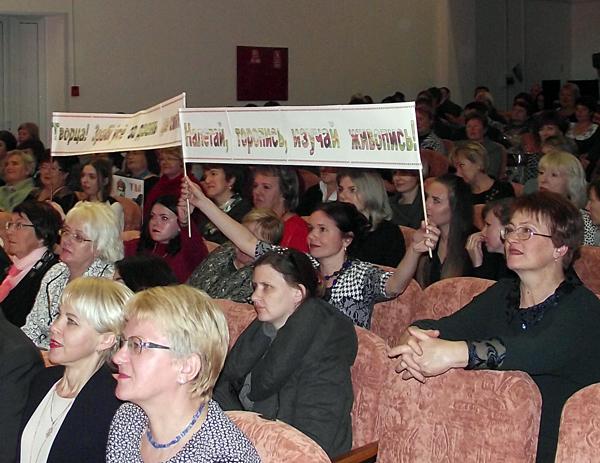 В Лиозно состоялось торжественное мероприятие, посвящённое Дню работниковкультуры (дополнено)