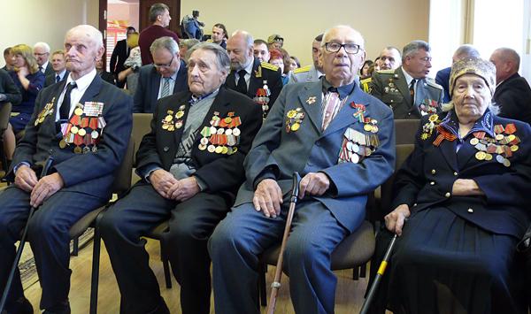 Празднование 75-й годовщины освобождения Лиозно от немецко-фашистских захватчиков