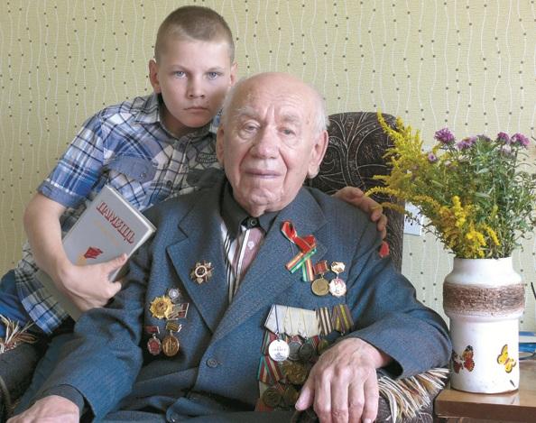 Дружит Коля с ветераном