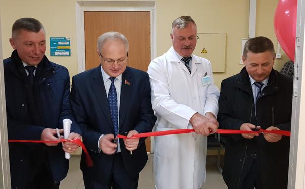 В поликлинике Лиозненской центральной районной больницы открыт новый рентгенкабинет