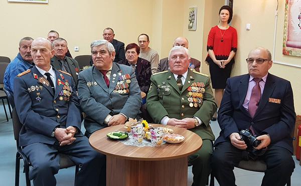 В Лиозно прошла тематическая встреча, посвящённая Дню чествования ветеранов органов внутренних дел