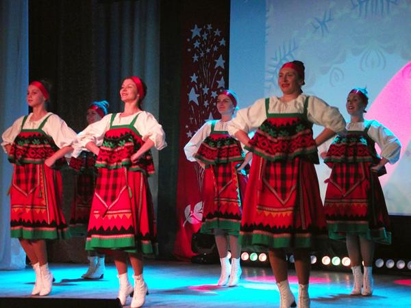 В Лиозно состоялся праздничный концерт, посвящённый Дню Октябрьской революции