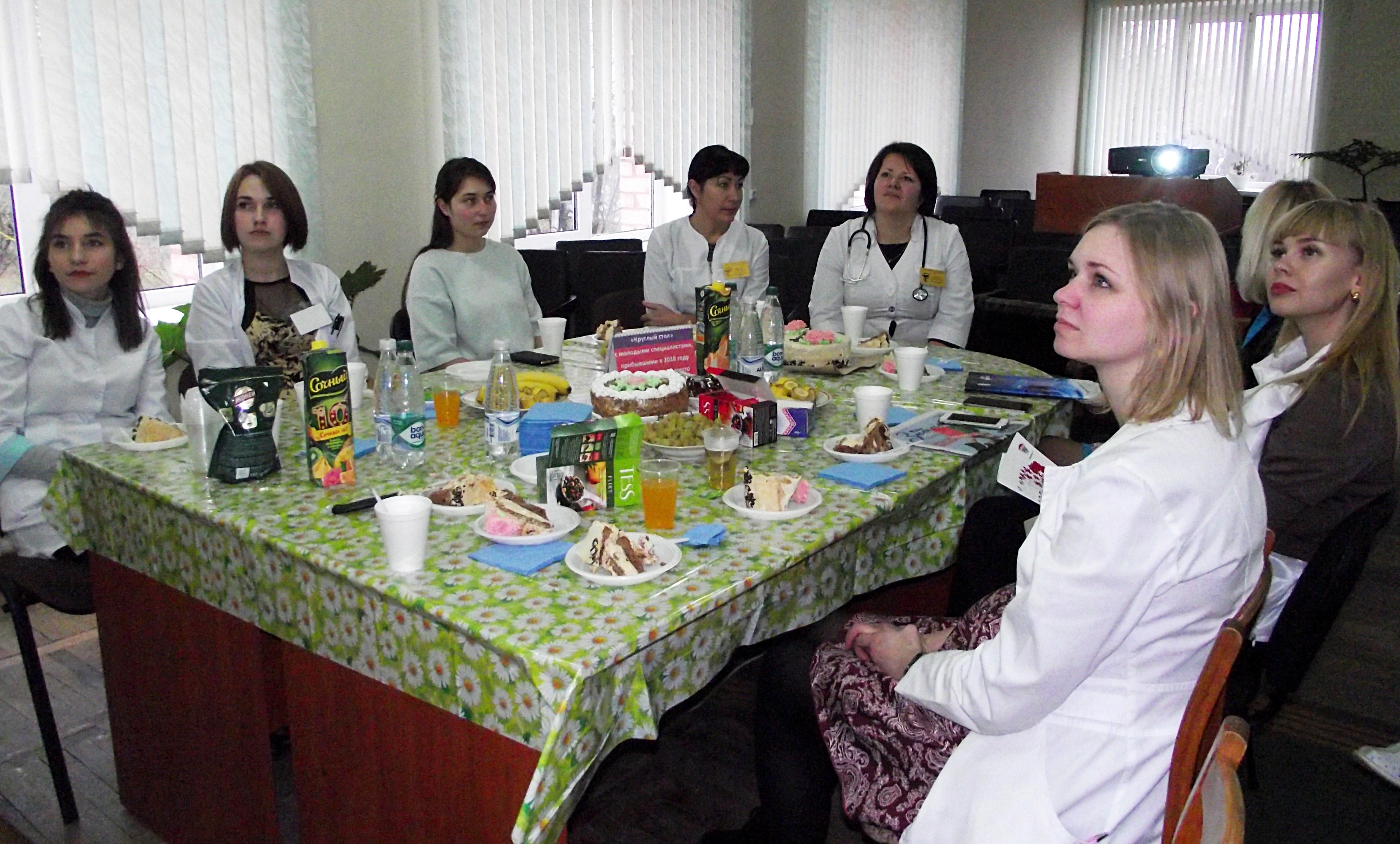 В УЗ «Лиозненская ЦРБ»  состоялся «круглый стол» с молодыми специалистами