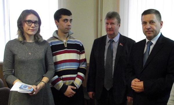 Встреча руководства Лиозненского района с молодыми специалистами