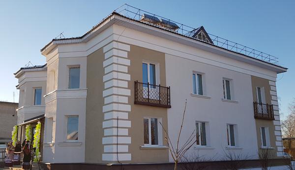 Первый в республике  экспериментальный дом  сдан в эксплуатацию в г.п. Лиозно