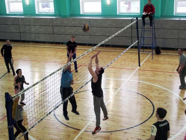 Волейбольное противостояние  работников образования Лиозненского района