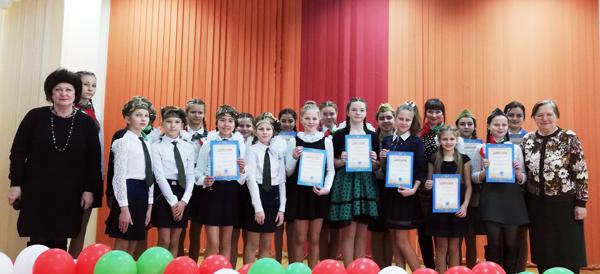 В СШ№1 г.п. Лиозно прошёл районный конкурс патриотической песни