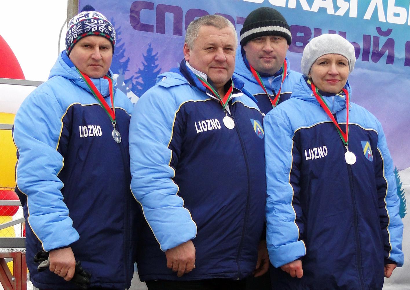 Успехи команды Лиозненщины на «Витебской лыжне»