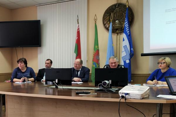 Советом Лиозненского районного объединения профсоюзов намечены новые ориентиры