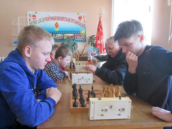 Состоялось личное первенство Лиозненского района по шахматам